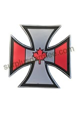 SHADOW Patch PVC Velcro Croix Canadian Patriotic