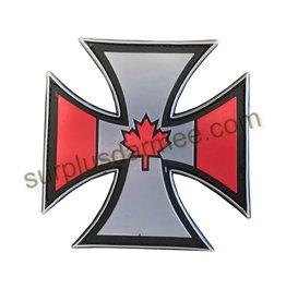 SHADOW ELITE Patch PVC Velcro Croix Canadian Patriotic