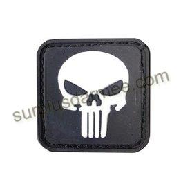 SHADOW Patch PVC Velcro Skull