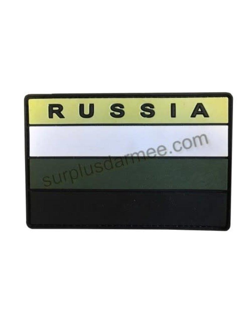 SHADOW ELITE Patch PVC Velcro Russia Drapeau Vert