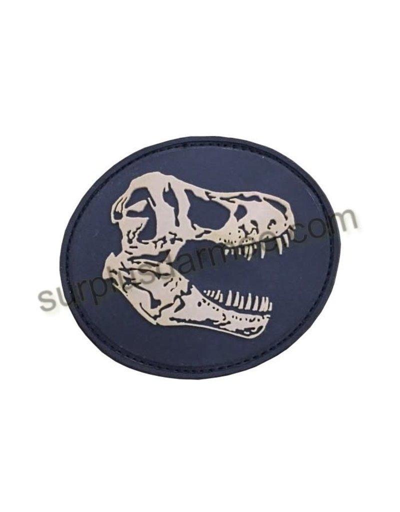 SHADOW ELITE Patch PVC Velcro D'Skull