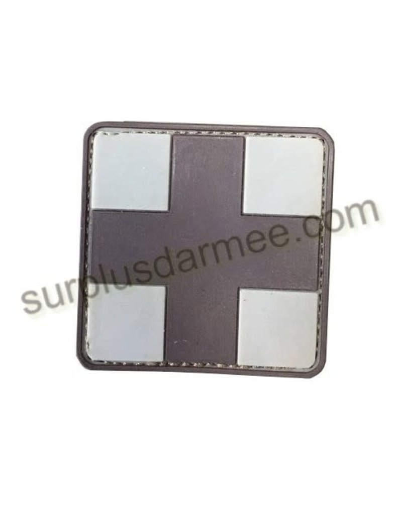 SHADOW Patch PVC Velcro Croix Medic Brown/tan