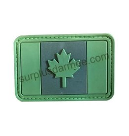 SHADOW Patch PVC Velcro Canadian Green
