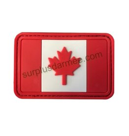 SHADOW Patch Canada PVC Velcro Canadian Flag
