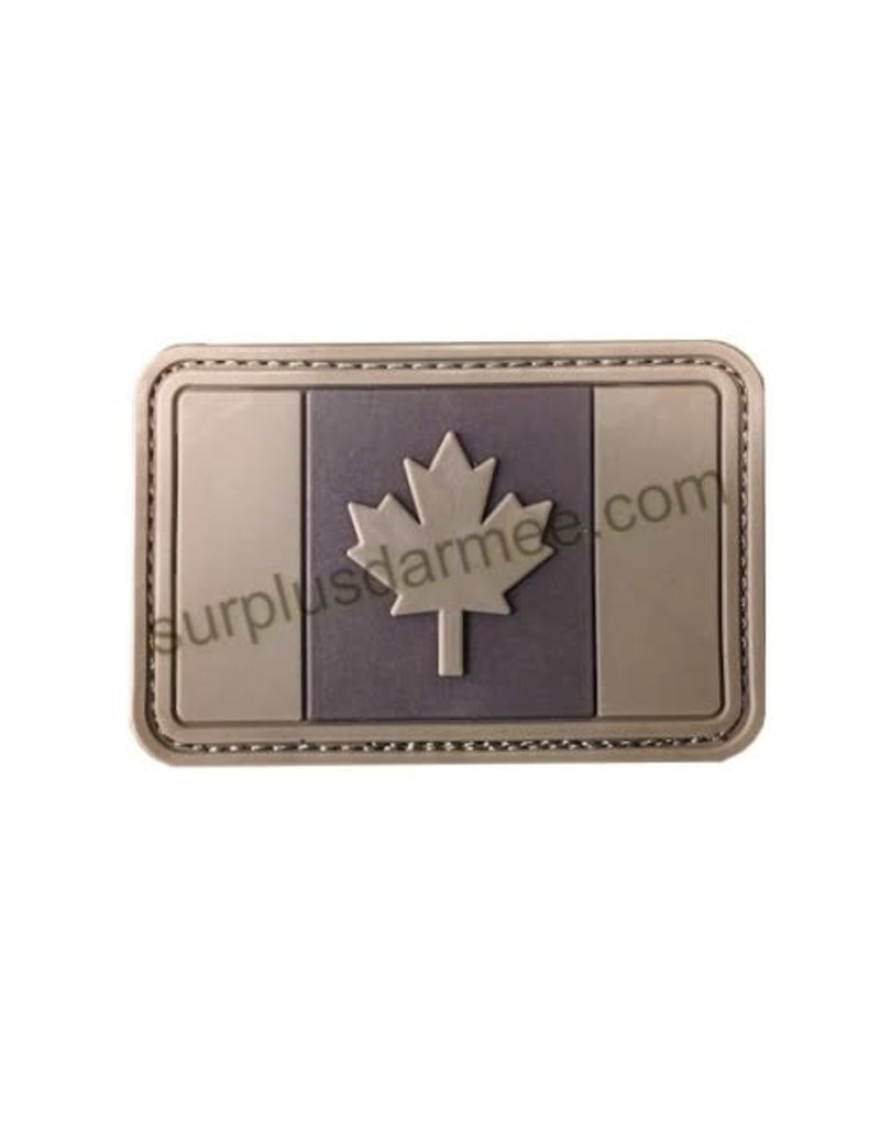 SHADOW ELITE Patch Canada PVC Velcro Canadian Flag Tan