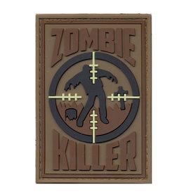 ROTHCO Patch Velcro PVC Zombie Killer Brun