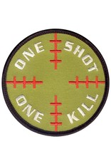 ROTHCO Patch Velcro One Shot One Kill