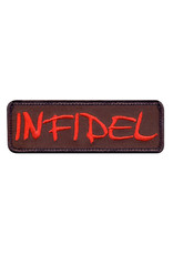 ROTHCO Patch Velcro Infidele Rouge
