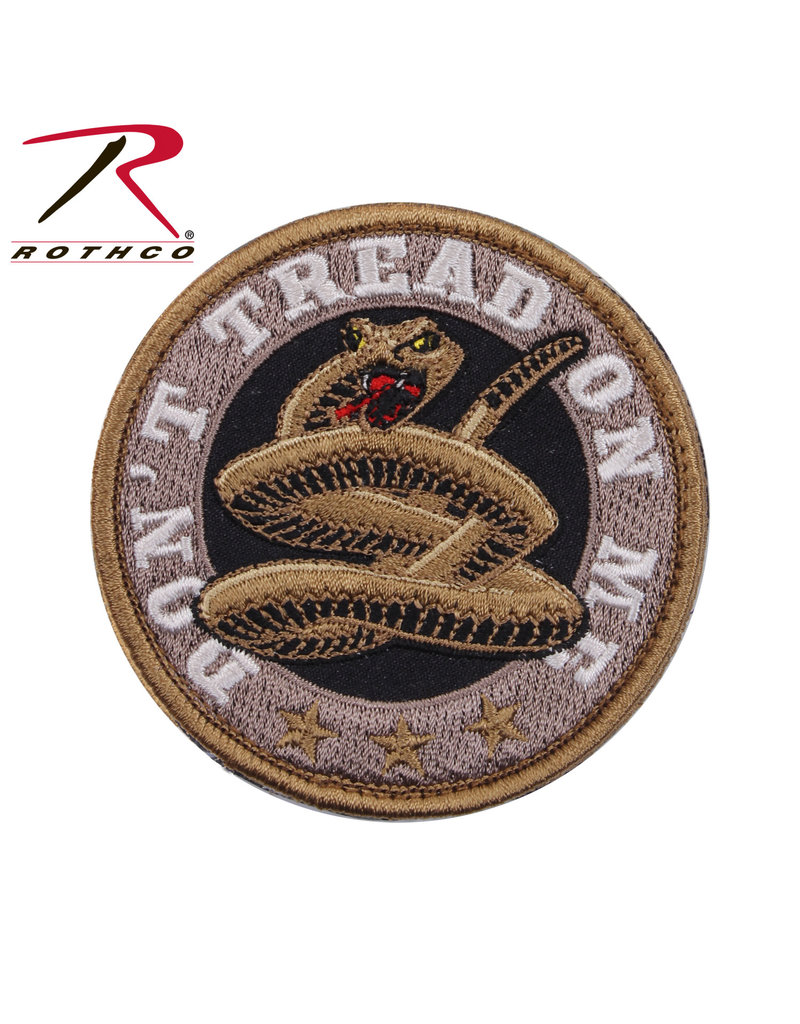 ROTHCO Patch Velcro Don't Tread On Me (Rond)