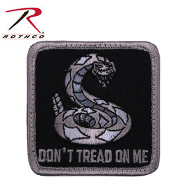 ROTHCO Patch Velcro Don't Trade On Me Carré ( NOIR )