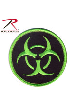 ROTHCO Patch Velcro Biohazard Rond