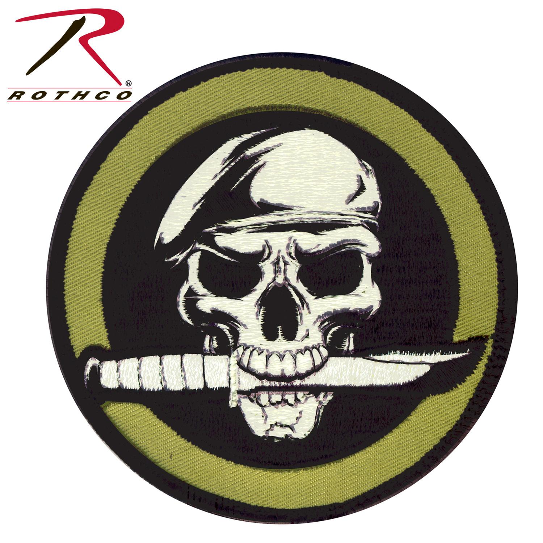 7,5cm Soldat Salut Militaire Camouflage Arm/ée Patch Rond Army Biker Motard /Écusson Tissus Thermocollant Cameleon-Shop