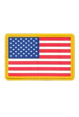 ROTHCO Rothco PVC US Flag Patch - Hook Back