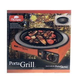 OLYMPIA Porta Stove Plateau de Cuisson Grill Camping Olympia