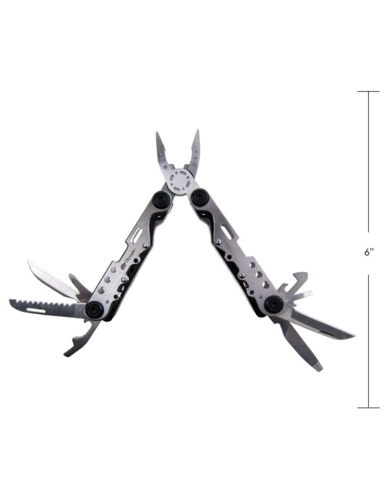 OLYMPIA OLYMPIA - MULTI TOOL, 12 FUNCTION, SILVER,