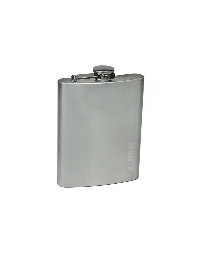 NORTH 49 Flask 8 OZ Stainless Steel North 49