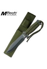 M-TECH Paracord Survival Blade Fixe Knife MTECH