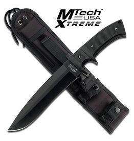 M-TECH Couteau a Lame Fixe Stainless G10 Style Militaire MTECH