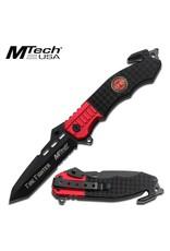 M-TECH Couteau De Poche Pliant Fire Département  MTECH MT-740FD