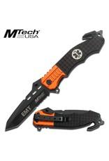 M-TECH Tactical Folding Knife EMT Medic MTECH MT-740EM