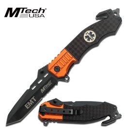 M-TECH Couteau Pliant Tactical EMT Medic MTECH MT-740EM