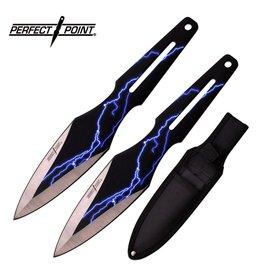 PERFECT-POINT Couteau De Lancer Perfect Point Set de 2
