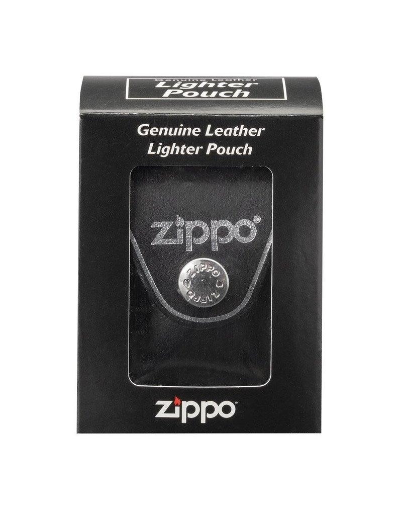 ZIPPO Zippo Black Leather Clip Pouch LPCBK