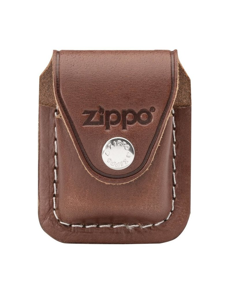 ZIPPO Zippo Pouch Brown Leather LPCB