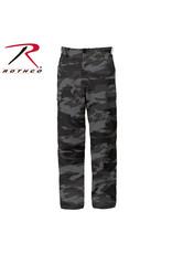 ROTHCO Pantalon Style Militaire Camo noir Rothco