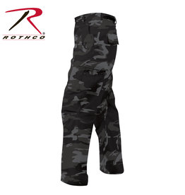 ROTHCO Rothco Black Camo Military Style Pants