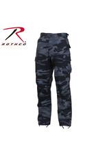 ROTHCO Pantalon Style Militaire Camo Bleu Nuit Rothco