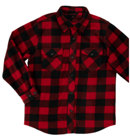 TOUGH-DUCK Buffalo Check Fleece Shirt