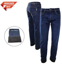 GATTS Pantalon Jeans Extensible Doublé Gatts de travail