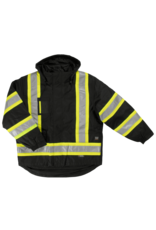 TOUGH-DUCK Fluorescent Reflective Work Winter Coat 5 in 1 Tough Duck