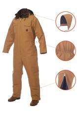 TOUGH-DUCK Overhead Hydro (Coverall) Lined Tough Duck 12 OZ