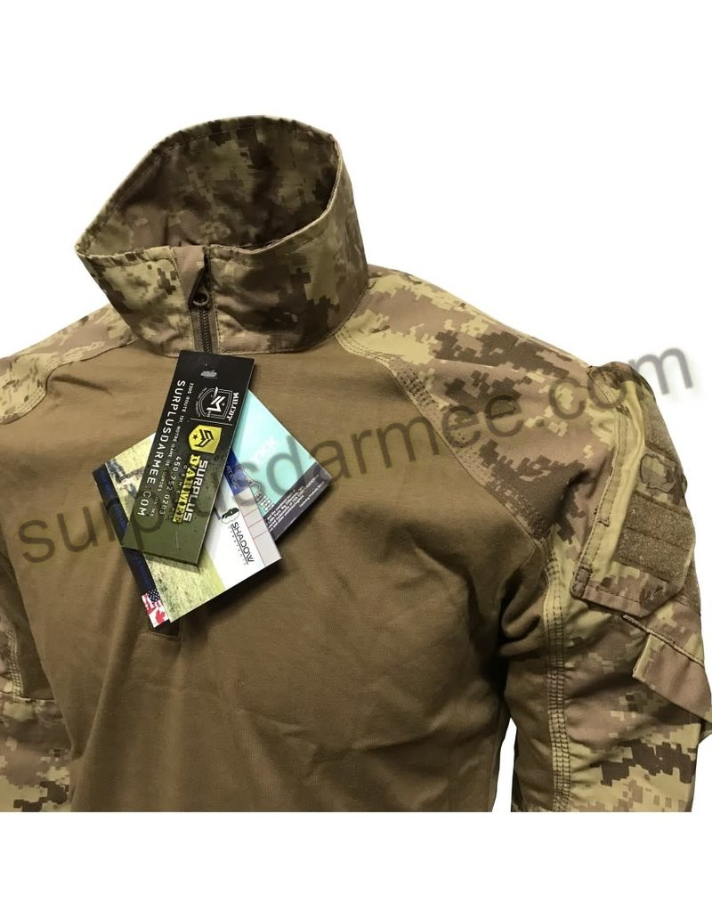SHADOW ELITE Canadian Desert Shadow Tactical Camo Arid Combat Shirt