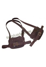 MILCOT Made Canada Leather Snowshoe Harness