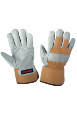 TOUGH-DUCK Glove Winter Work Leather Insulated Plush Tough Duck