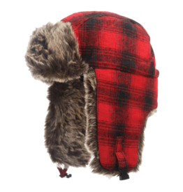 TOUGH-DUCK Tough Duck Plaid Aviator Hat