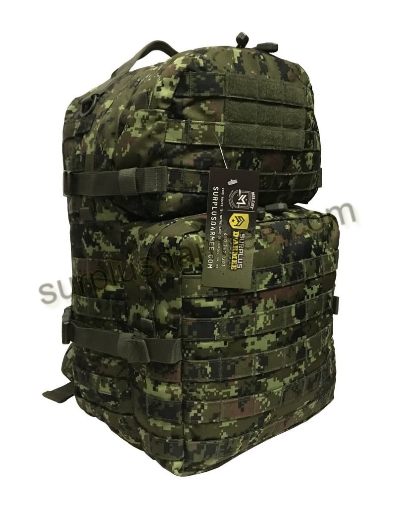 SGS Sac A Dos Tactical 35L Canadien Molle  Cadpat SGS