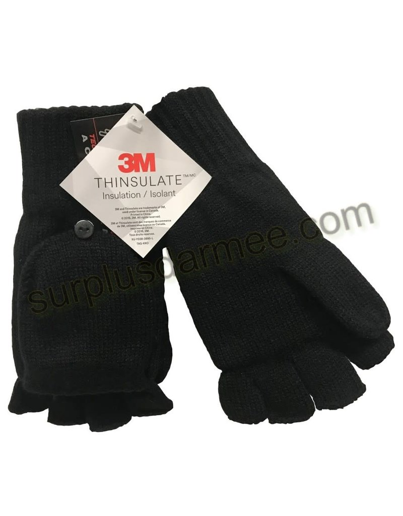 MISTY MOUNTAIN Cut Finger Glove Flap Misty Mountain Insulated Thinsulate