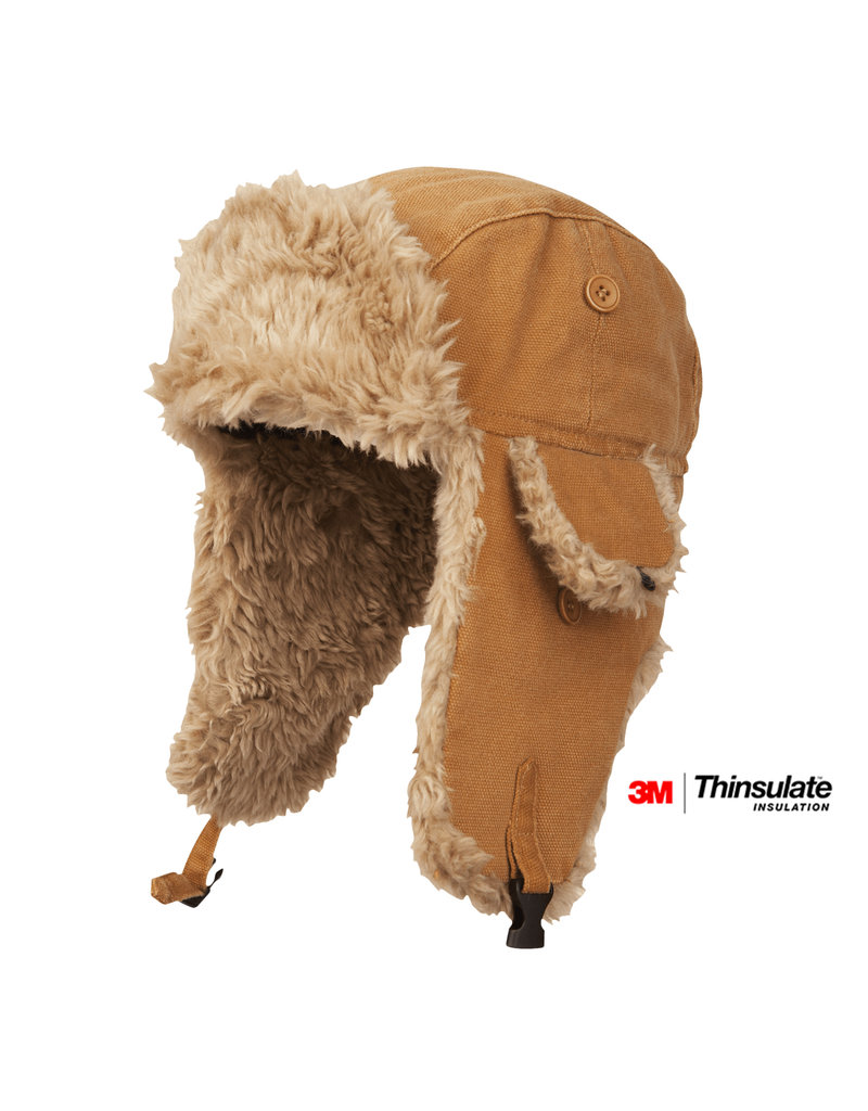 TOUGH-DUCK Aviator Hat Isolated Thinsulate Tough Duck