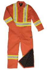 WORK KING Overall (Coverall) Lined Work King Reflective Band 3M