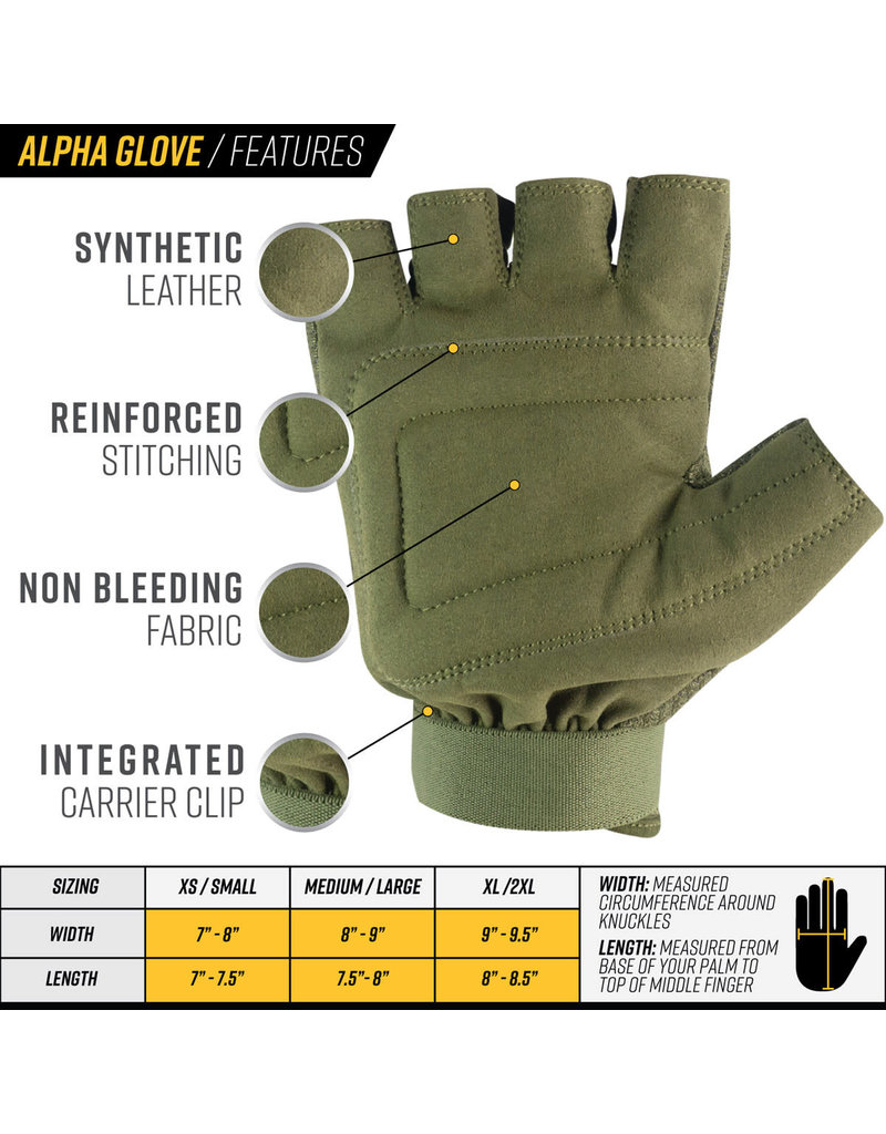 VALKEN Valken Coyote Half Cut Finger Gloves