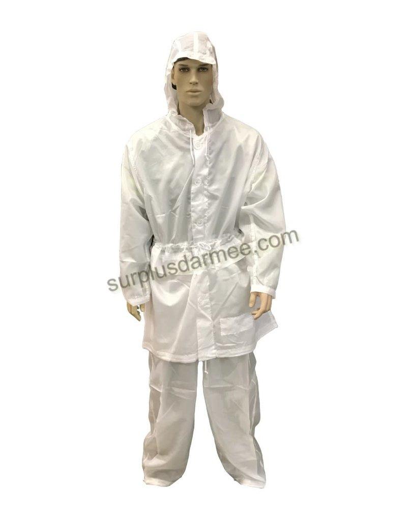 MILCOT Ensemble Camouflage Blanc Style Militaire MILCOT