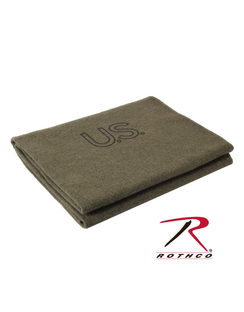 ROTHCO Rothco Wool Blanket 70% U.S Wool