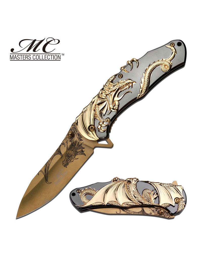M-TECH Couteau Pliant Master Collection Dragon