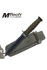 M-TECH Mini Tactical Knife Fixed Blade Neck chain