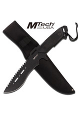 M-TECH Couteau Tactical Lame Fixe Inox