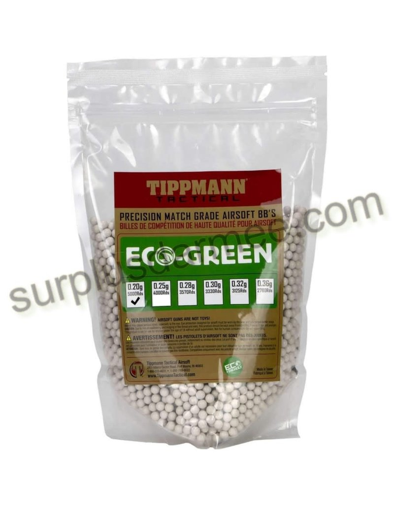 TIPPMANN Sac 5000 Billes Airsoft (BBs) Bio 0.20g 6mm Tippmann